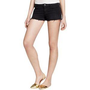 J Brand Rita Cut-Off Shorts in Black